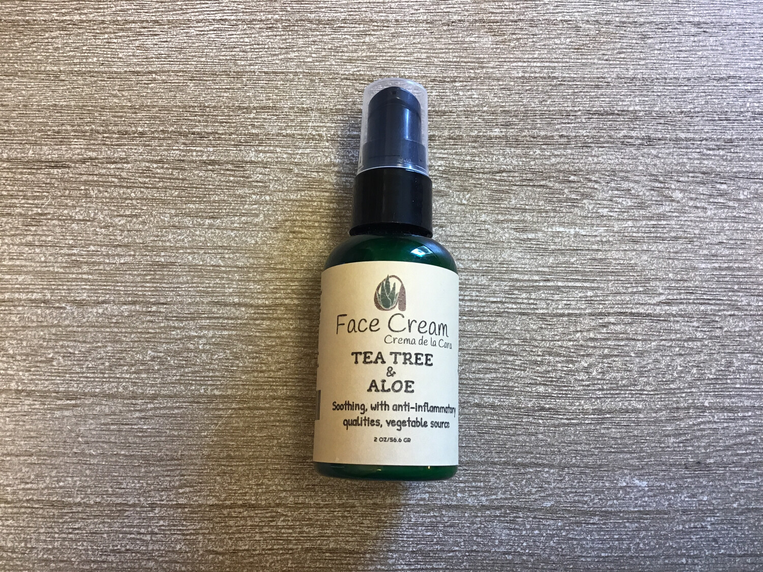 TEA TREE ALOE FACE CREAM