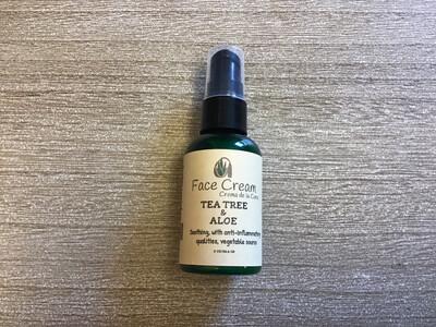 TEA TREE ALOE FACE CREAM