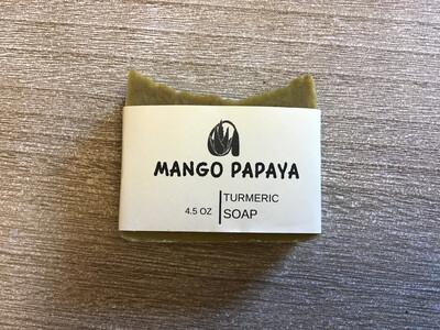 2  Vibrant Mango Papaya Soap Set