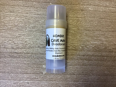"Hombre ""cave Man""  Deodorant - All Natural"