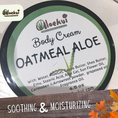 Oatmeal & Aloe Hand & Body Lotion 4.5 OZ