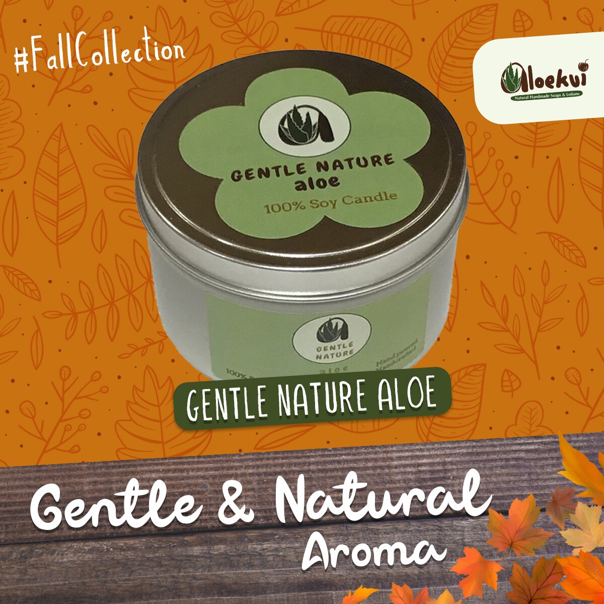 Gentle Nature Soy Candle