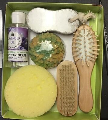 All Over Massage Kit-Lavender/Lemongrass