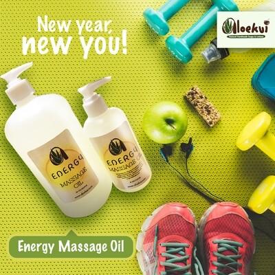 Energy Massage Oil 8 Oz