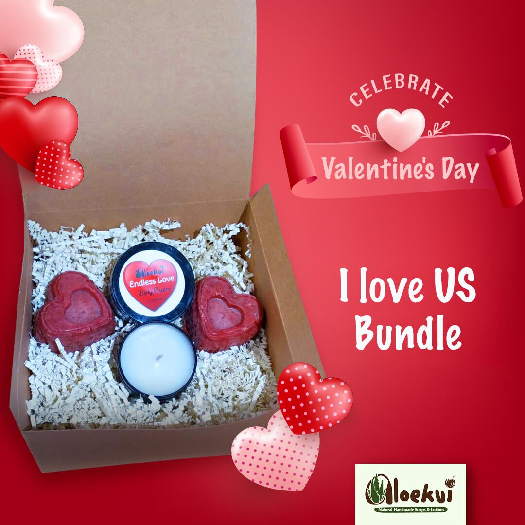 Endless Love Gift Set:  I LOVE US!