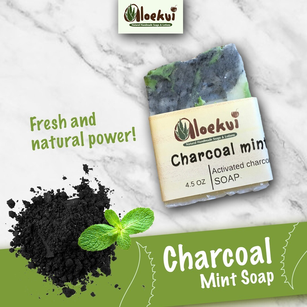 Activated Charcoal  Mint
