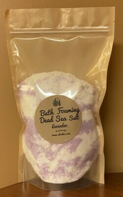 Lavender Foaming Bath Dead Sea Salt