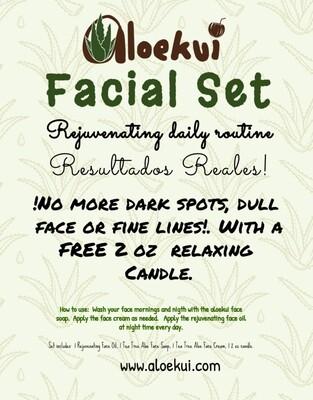Rejuvenating Aloekui Face Awesome Set