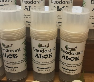 Aloe Deodorant - All Natural