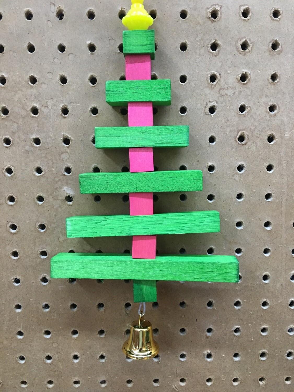 Holiday Balsa Wood Christmas Tree