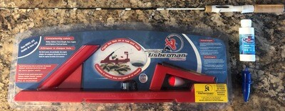 Automatic fisherman base and 35 inch medium rod