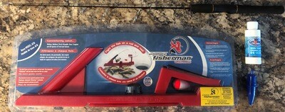 Automatic fisherman base and 33 inch medium light rod