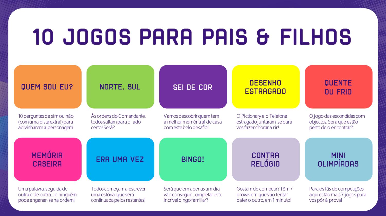 PDF - 10 JOGOS PAIS & FILHOS