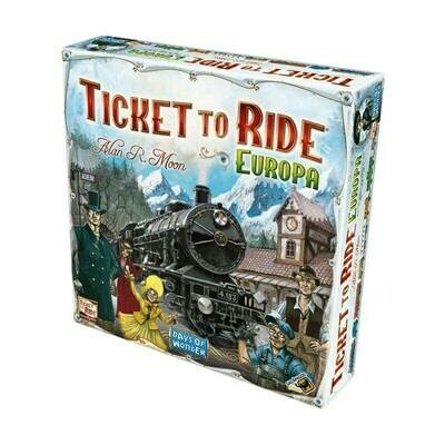 Jogo TICKET TO RIDE: EUROPA
