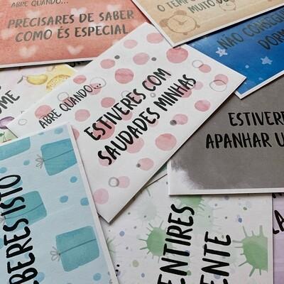 """Envelopes """"Abre Quando"""" - Amor"""