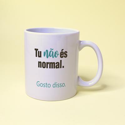 Caneca - Não és normal