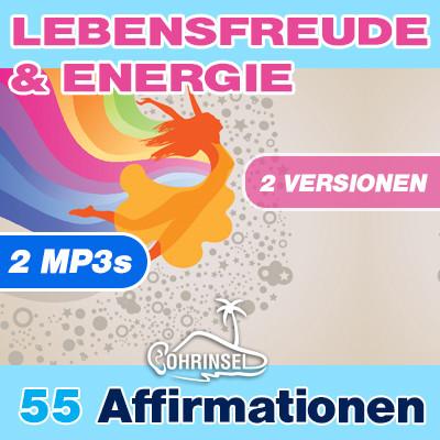 MP3 Affirmationen Lebensfreude & Energie **PREMIUM** 2 MP3s
