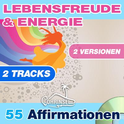 CD Affirmationen Lebensfreude & Energie **PREMIUM** 2 Versionen