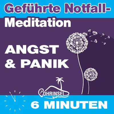 MP3 Notfall Meditation bei Angst und Panik