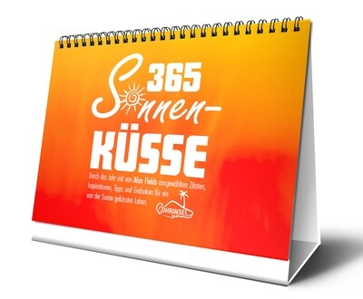 365 Sonnenküsse - Tischkalender - B-WARE