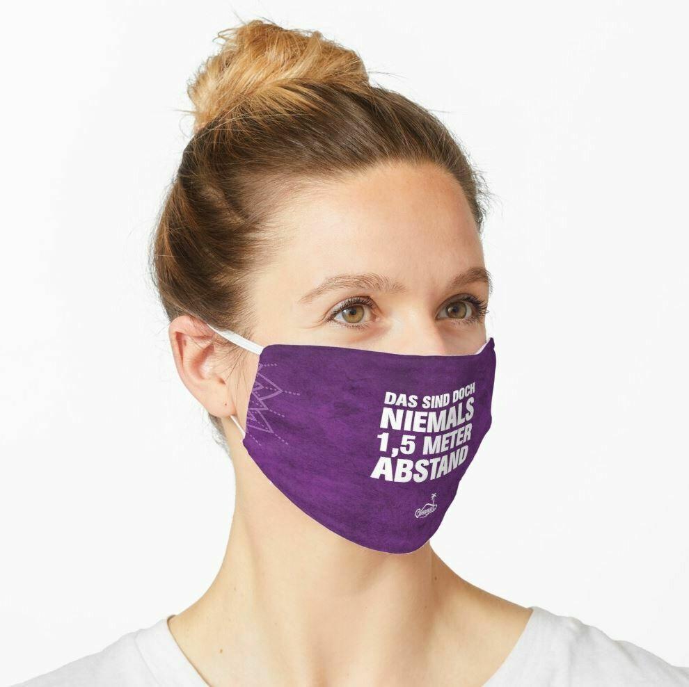 Maske - Das sind doch niemals 1,5 Meter