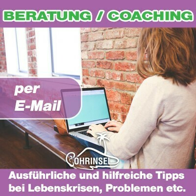 Persönliche Lebensberatung ► per E-Mail
