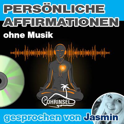CD Persönliche Affirmationen (10 - 50 Sätze) - ohne Musik