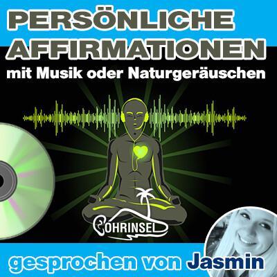 CD Persönliche Affirmationen (10 - 50 Sätze) - mit Musik