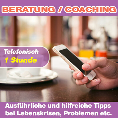 Telefonische Lebensberatung - 1 Stunde