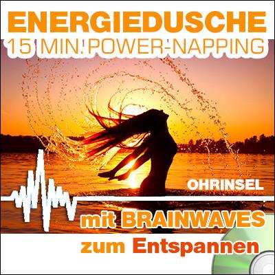 CD BRAINWAVES: Energiedusche  [Zum Entspannen]