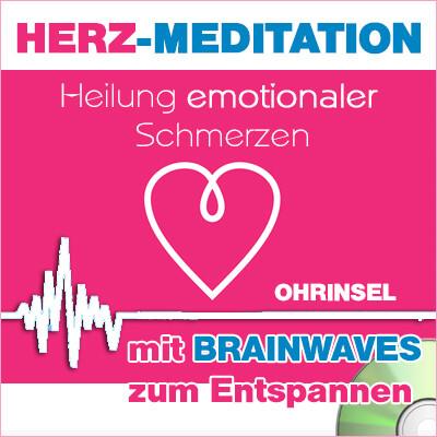 CD BRAINWAVES: Geführte HERZ-Meditation [Zum Entspannen]