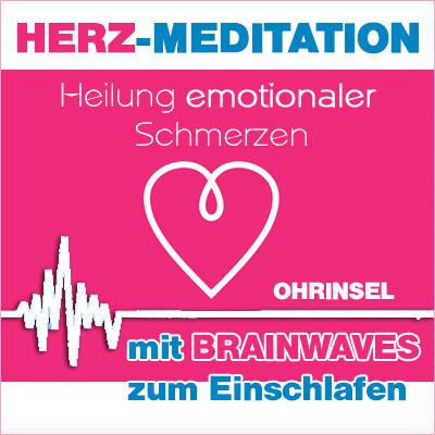 MP3 BRAINWAVES: Geführte HERZ-Meditation [zum Einschlafen]