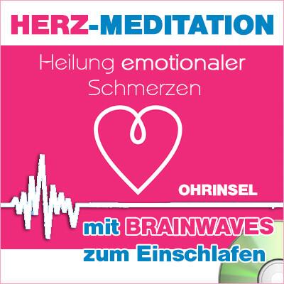CD BRAINWAVES: Geführte HERZ-Meditation [zum Einschlafen]