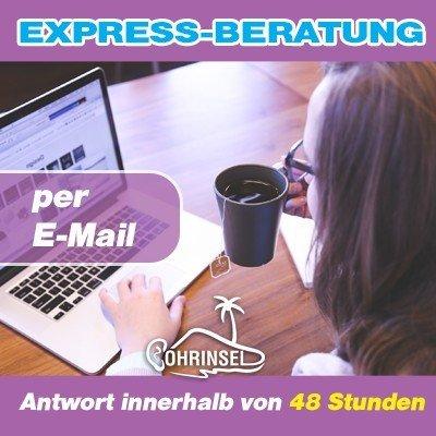 Express-Beratung per E-Mail / Antwort innerhalb von 48 Stunden