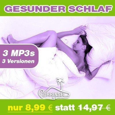 MP3 Paket ★☆Deluxe : Gesunder Schlaf - Geführte Meditation | 3 Versionen