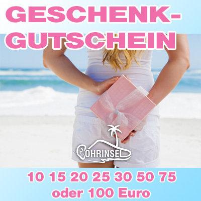 Geschenkgutschein - 10,15, 20, 25 30, 50, 75 oder 100 Euro