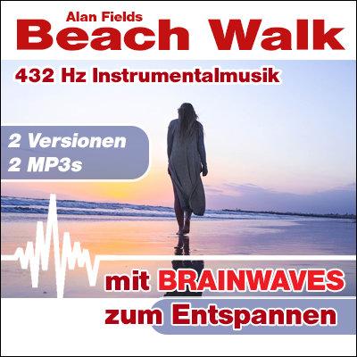 MP3 BRAINWAVES: 432 Hz Musik - Beach Walk  [Zum Entspannen]