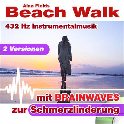 CD BRAINWAVES: 432 Hz Musik - Beach Walk [zur Schmerzlinderung]