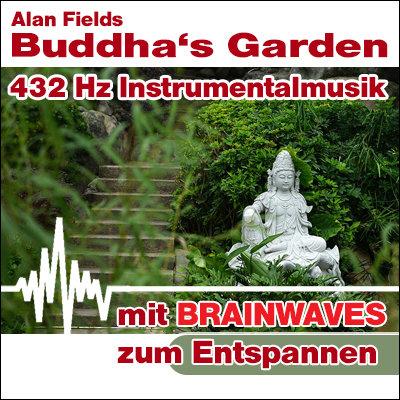 MP3 BRAINWAVES: 432 Hz Musik - Buddha's Garden  [Zum Entspannen]