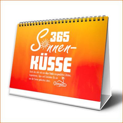 365 Sonnenküsse - Tischkalender