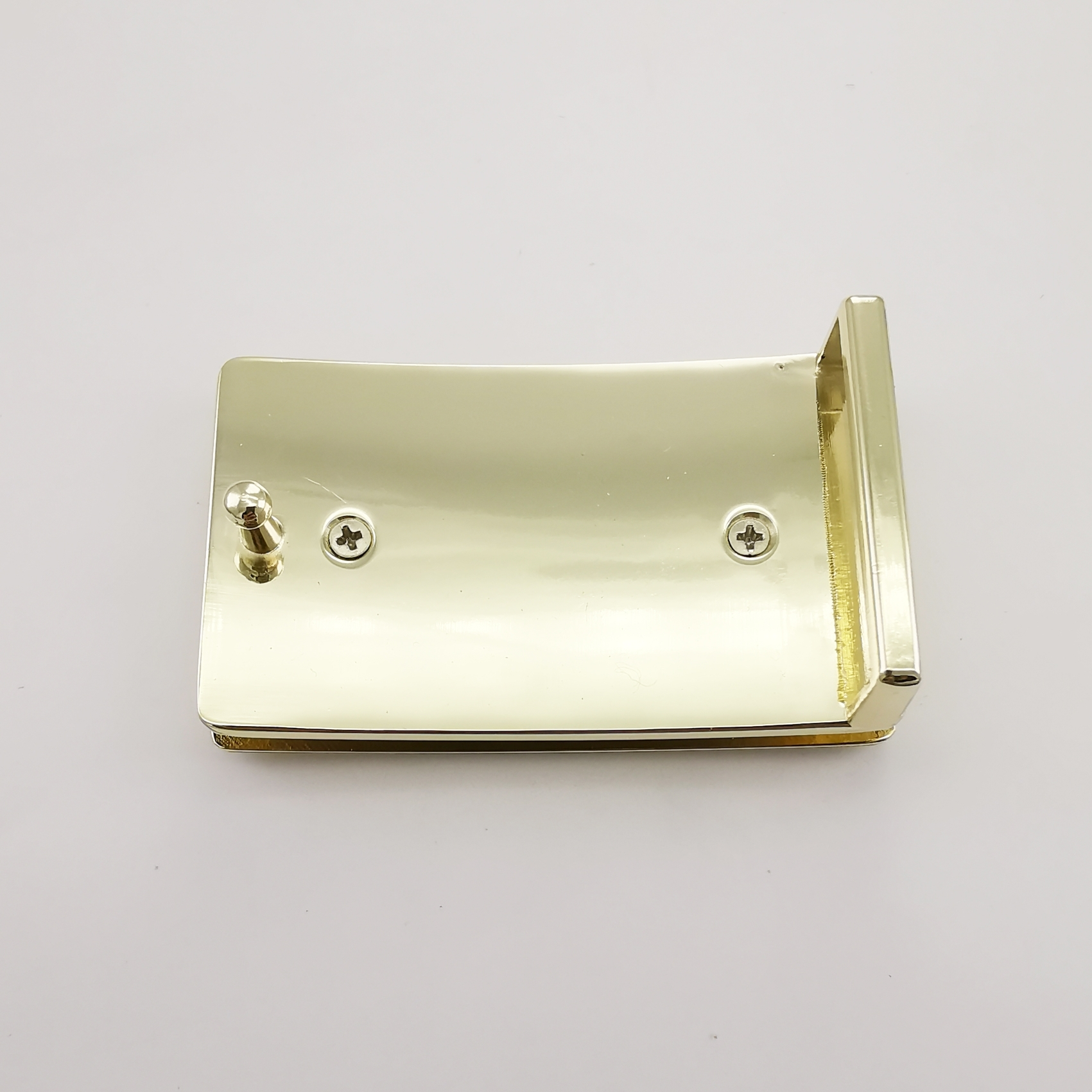 Omega Belt Buckle - Gold