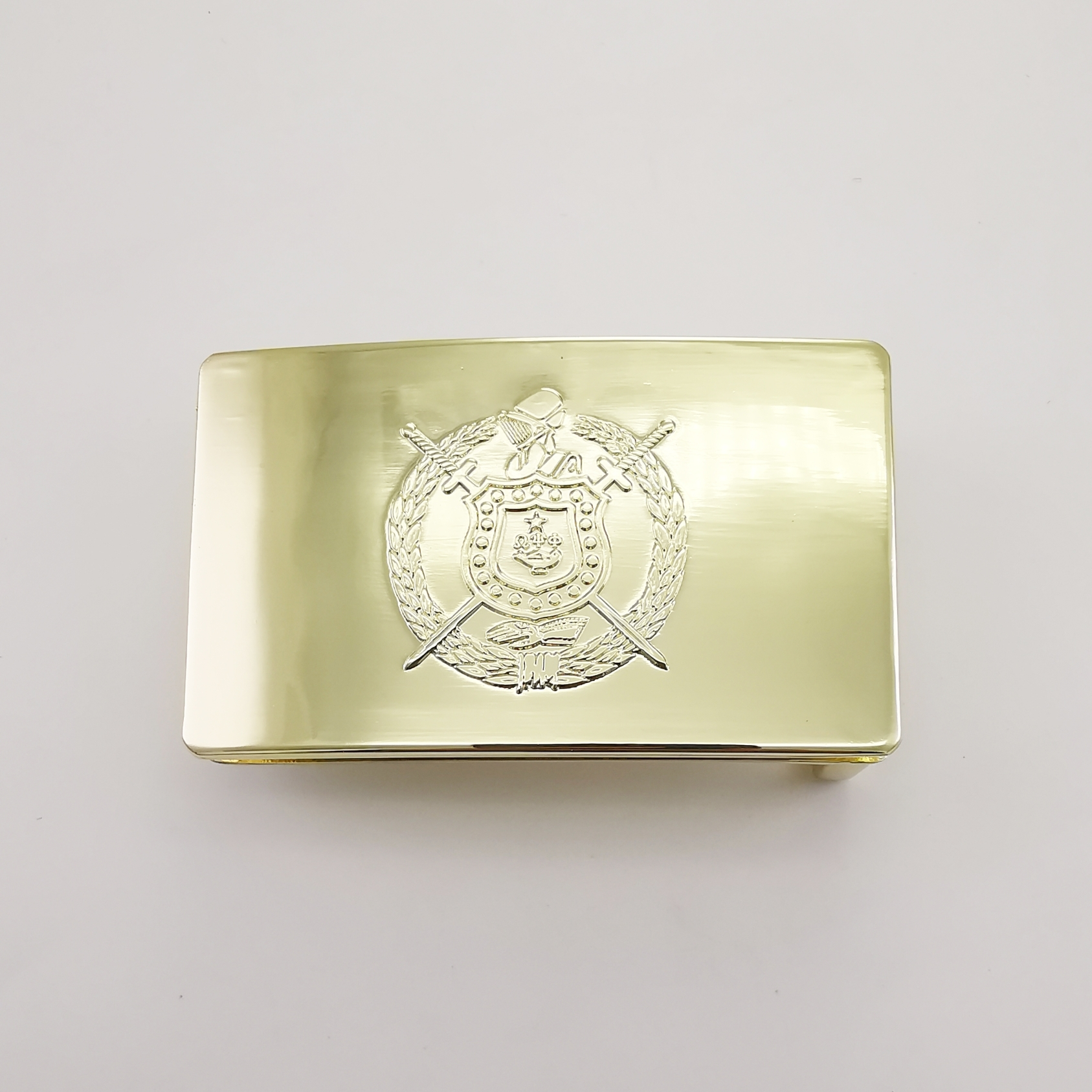 Omega Belt Buckle - Gold OBBG001