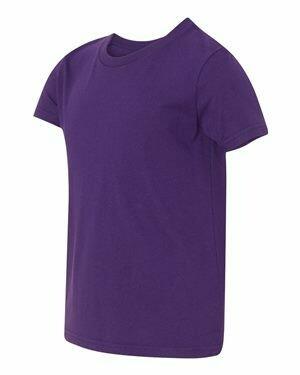 Mens Short Sleeve T-shirt -TEAM PURPLE