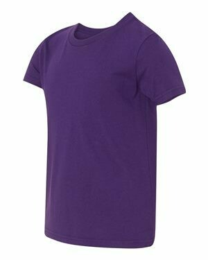 Mens Short Sleeve T-shirt -TEAM PURPLE