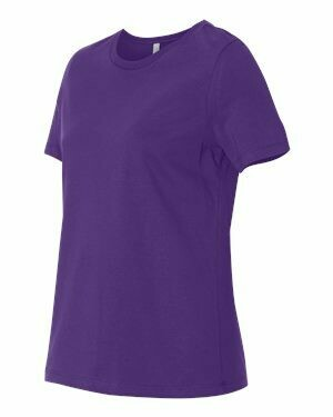 Women's Short Sleeve T-shirt -TEAM PURPLE