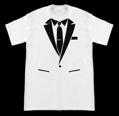 Suit Shirt White