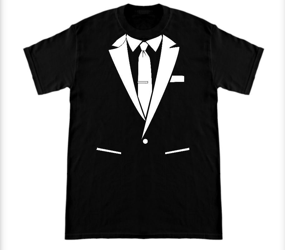 Suit Shirt Black