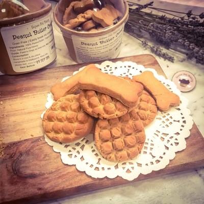 Handmade Dog Treat | Grain Free |Peanut Butter Cookie Training Bites
