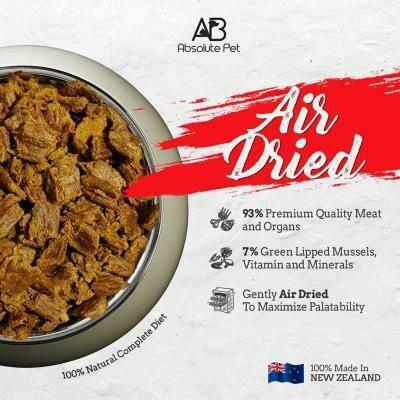 Air Dried Paleo Absolute Holistic Cat Food