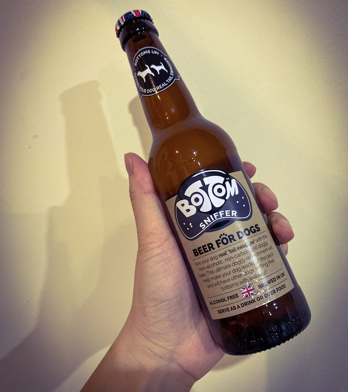 Bottom Sniffer Dog Beer | Alcohol Free Herbal Drink